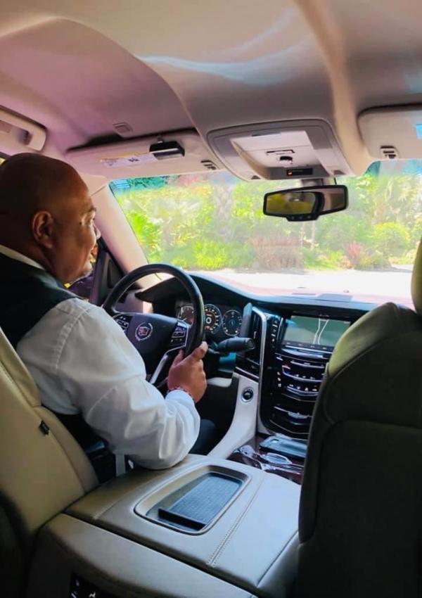 Amazing driver from Dorado Beach Resort and Spa Ritz Carlton Reserve