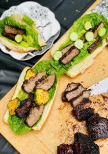 Kalbi BBQ Beef Rib Buns in 15 Minutes