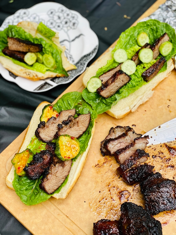 Kalbi BBQ Buns in 15 minutes