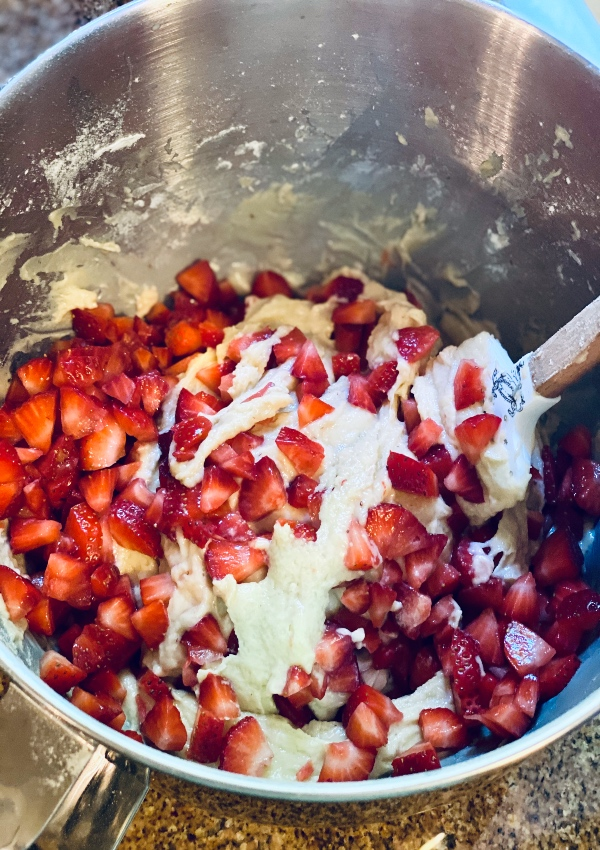 Batter for Strawberry Muffins