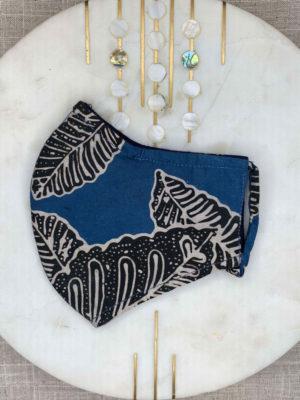 Hand Stamped Natural Dye Batik Mask