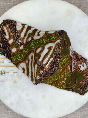 Hand Drawn Batik Mask